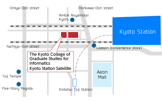 The Kyoto College of Graduate Studies for Informatics Kyoto Station Satellite