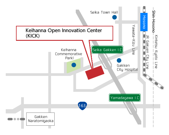 Keihanna Open Innovation Center(KICK)